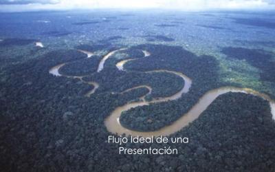 Flujo ideal de una presentación.